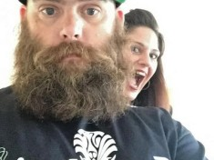 crazy cave man beard