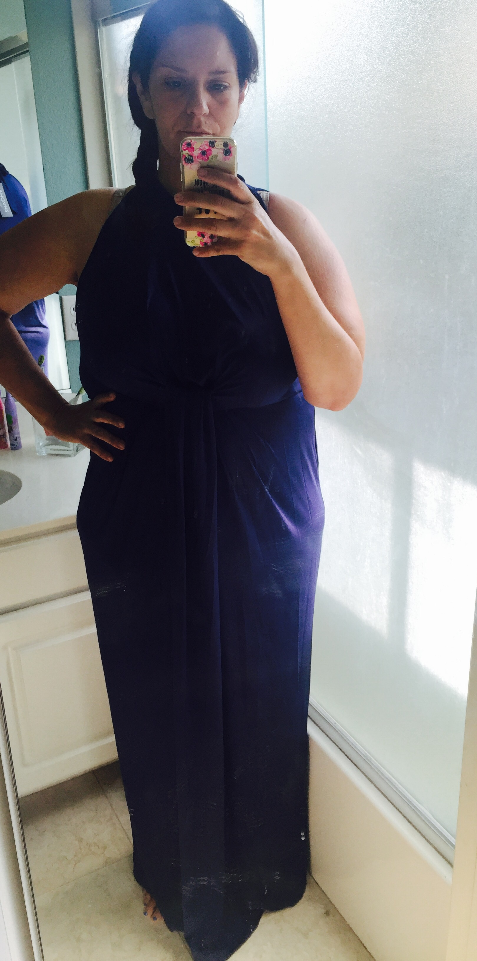 ANGVNS Halter Gown