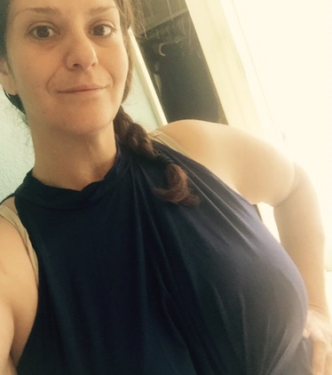 ANGVNS Halter Gown fits bad